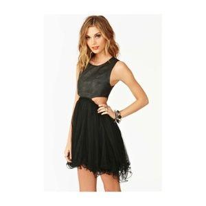 UNIF  Cut out Black Dress